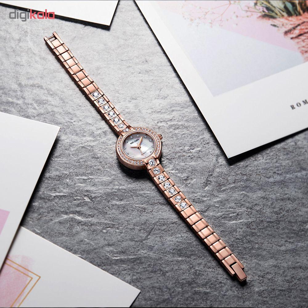 ساعت مچی عقربه ای زنانه مگیر مدل MS4203LRE-5N0