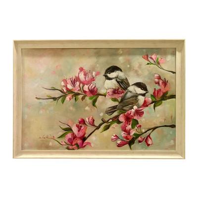 Photo of تابلو نقاشی طرح پرنده ها کد F-375
