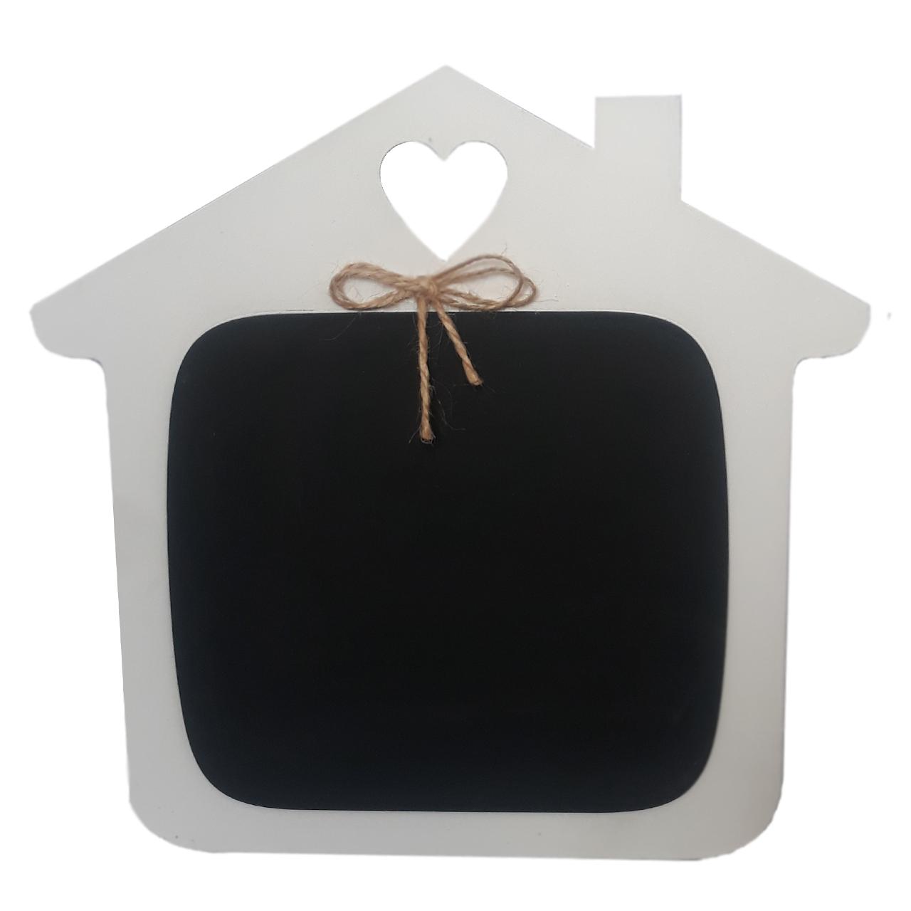 تخته سیاه مدل خانه کد 10124 سایز 20*25 سانتی متری