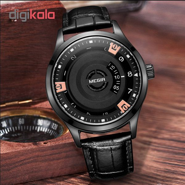 کد تخفیف                                      ساعت مچی عقربه ای مردانه مگیر مدل ML1067GBK-1N0