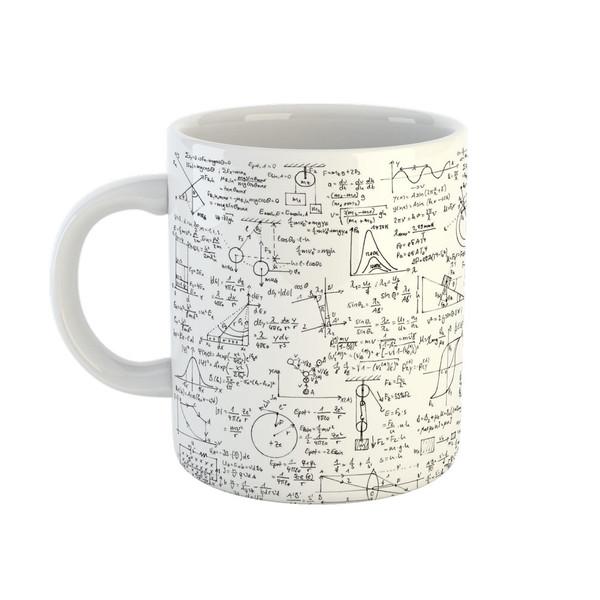ماگ طرح فرمول های فیزیک کد 00137