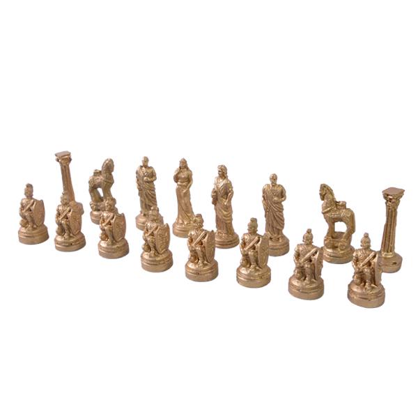 عکس مهره شطرنج چوبی کد 104 مجموعه ۳۲ عددی