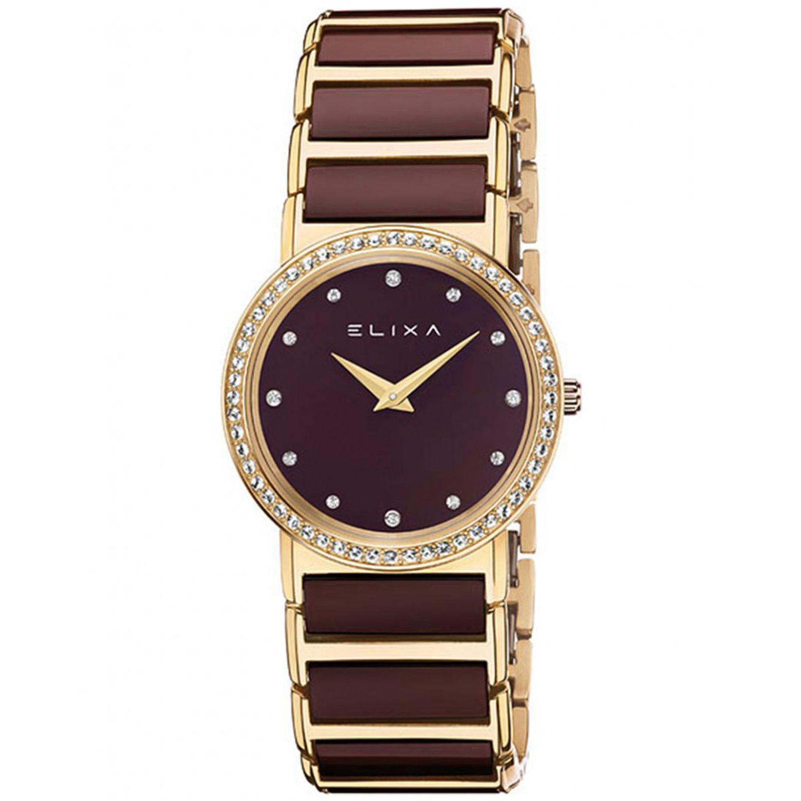 ساعت مچی عقربه ای زنانه الیکسا مدل E100-L394