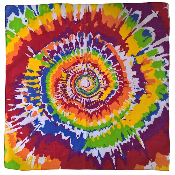 دستمال سر و گردن طرح رنگارنگ 2