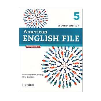 کتاب American English File 5 اثر جمعی از نویسندگان انتشارات Oxford