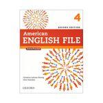 کتاب American English File 4 اثر جمعی از نویسندگان انتشارات Oxford