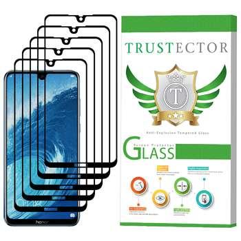 محافظ صفحه نمایش تراستکتور مدل GSS مناسب برای گوشی موبایل آنر 8X Max بسته 5 عددی