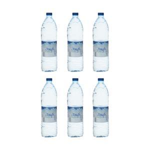 آب معدنی کریستال حجم 1.5 لیتر بسته 6 عددی