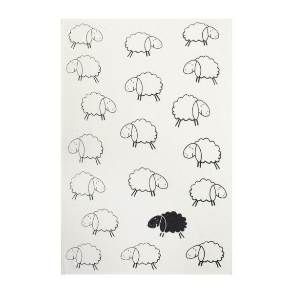 حوله آشپزخانه آکیپک طرح Sheep سایز 24x19 سانتیمتر