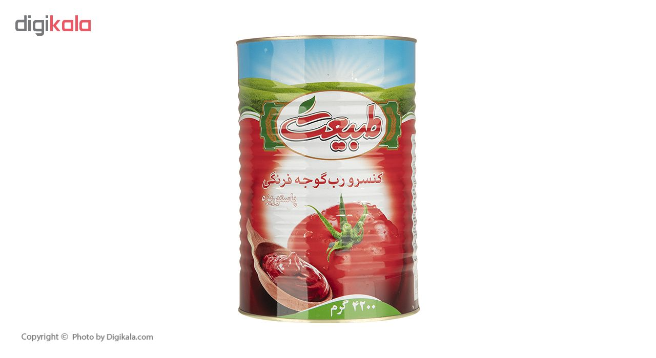 رب گوجه فرنگی طبیعت مقدار 4.2 کیلوگرم