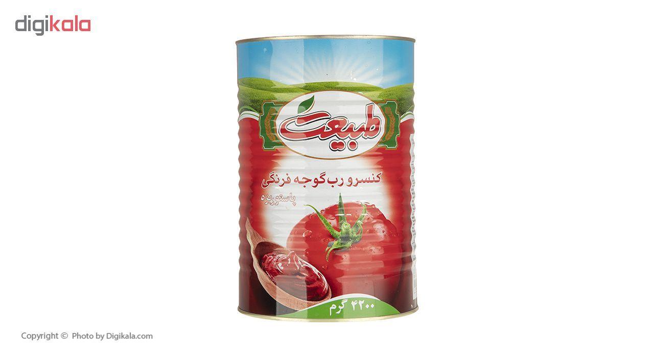 رب گوجه فرنگی طبیعت مقدار 4.2 کیلوگرم main 1 1