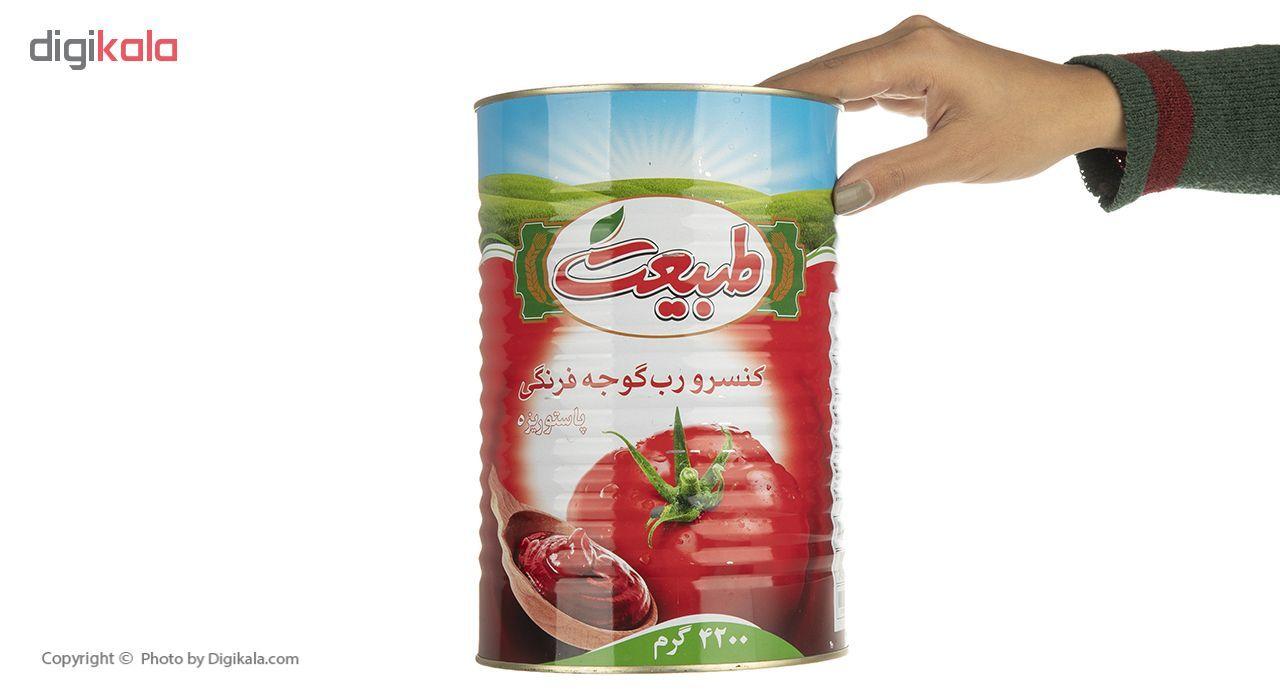 رب گوجه فرنگی طبیعت مقدار 4.2 کیلوگرم main 1 4