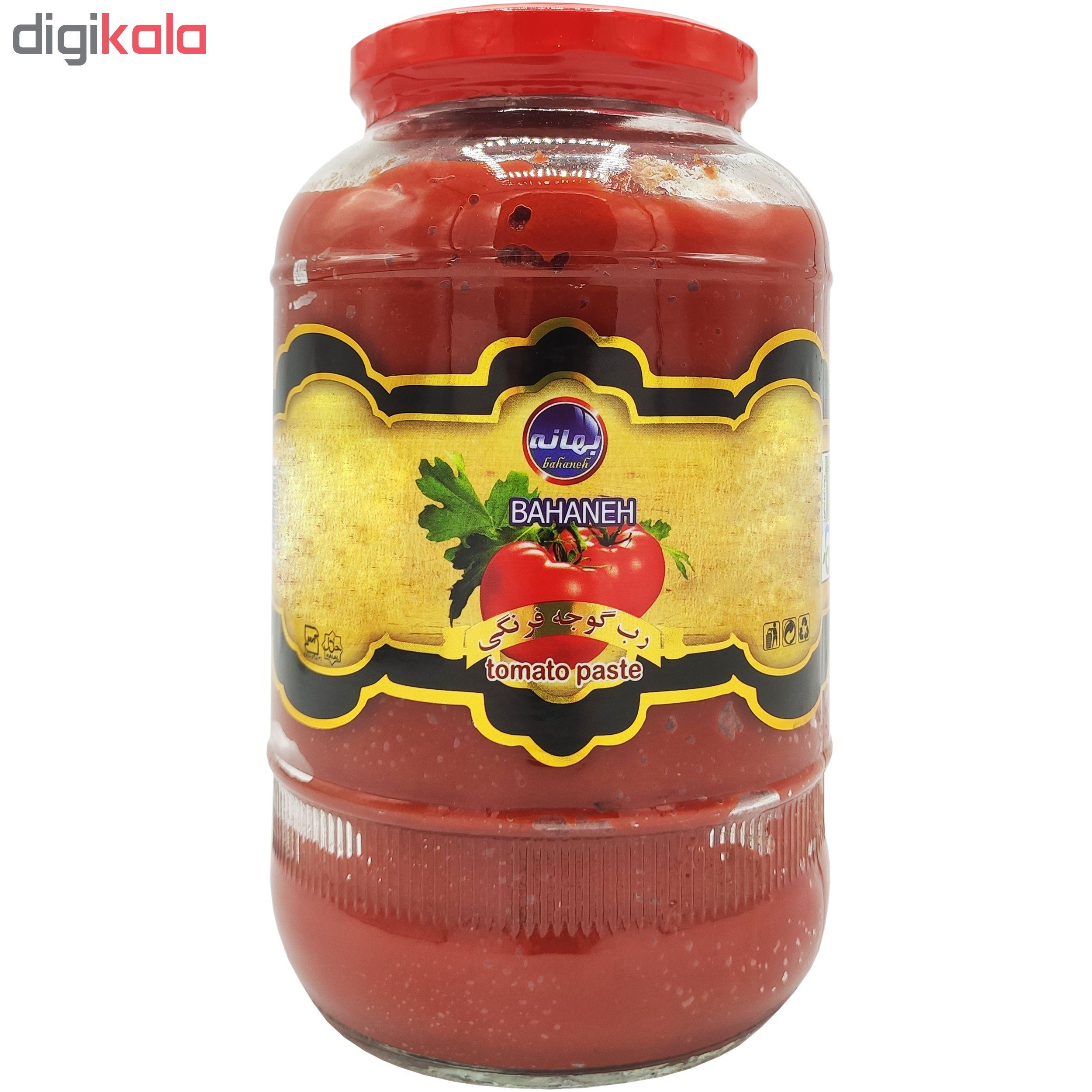 رب گوجه فرنگی بهانه مقدار 1550 گرم