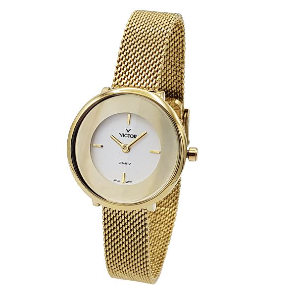 ساعت مچی عقربه ای زنانه ویکتور مدل JA-1326-02
