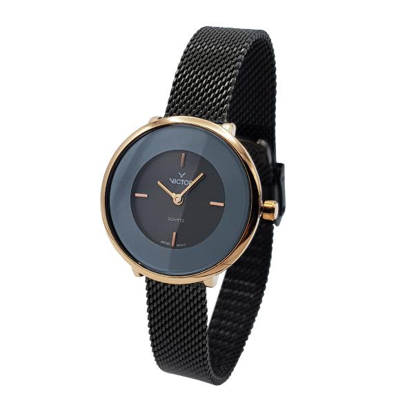 ساعت مچی عقربه ای زنانه ویکتور مدل JA-1326-04