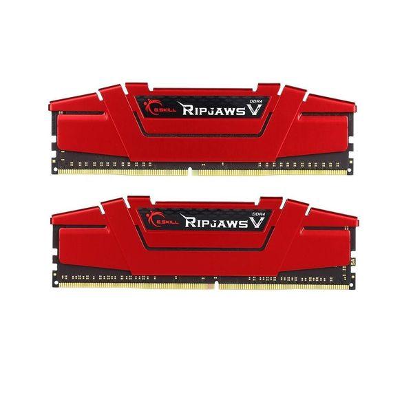 رم دسکتاپ DDR4 دو کاناله 3000 مگاهرتز CL16 جی اسکیل مدل Ripjaws V ظرفیت 32 گیگابایت