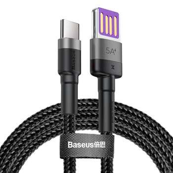 کابل تبدیل USB به USB-C باسئوس مدل CATKLF-PG1 طول 1 متر