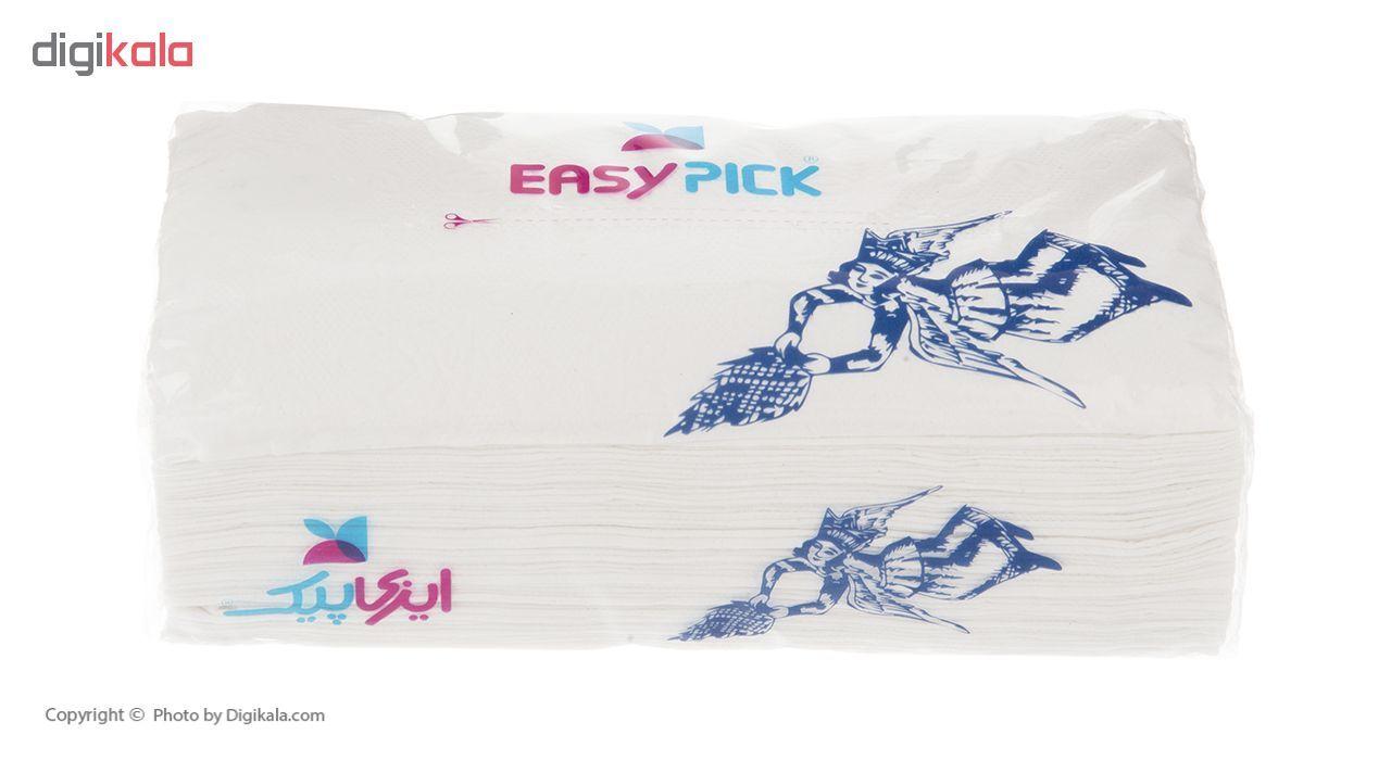 دستمال کاغذی 100 برگ ایزی پیک مدل King - بسته 10 عددی main 1 5