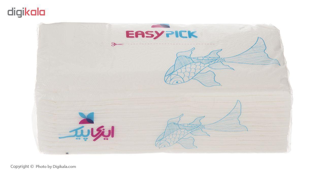 دستمال کاغذی 100 برگ ایزی پیک مدل Fish بسته 10 عددی main 1 5