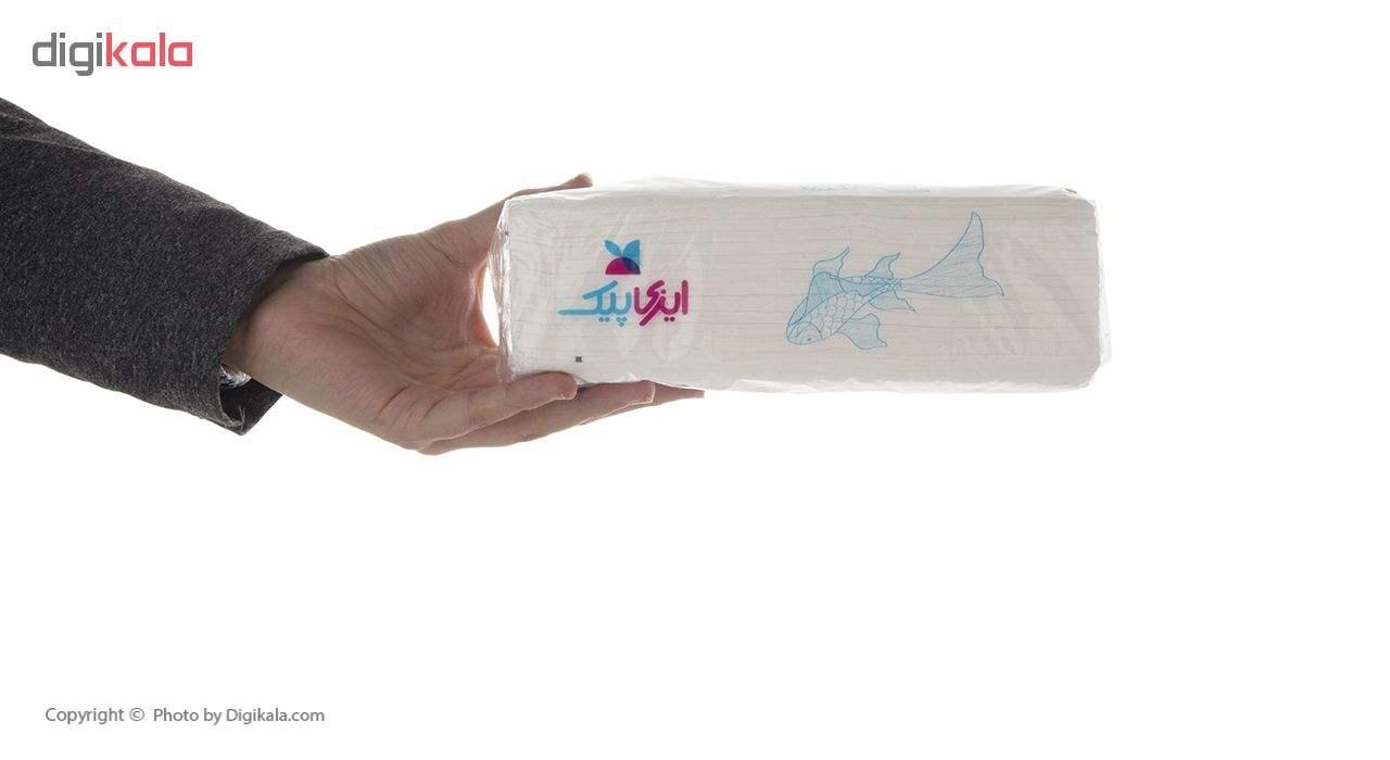 دستمال کاغذی 100 برگ ایزی پیک مدل Fish بسته 10 عددی main 1 7