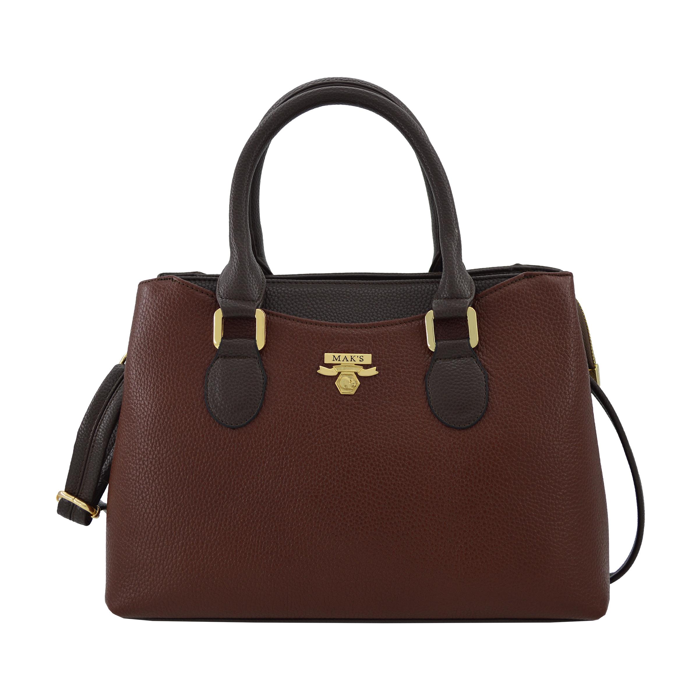 کیف دستی زنانه چرم مکس مدل آلدورا 11008