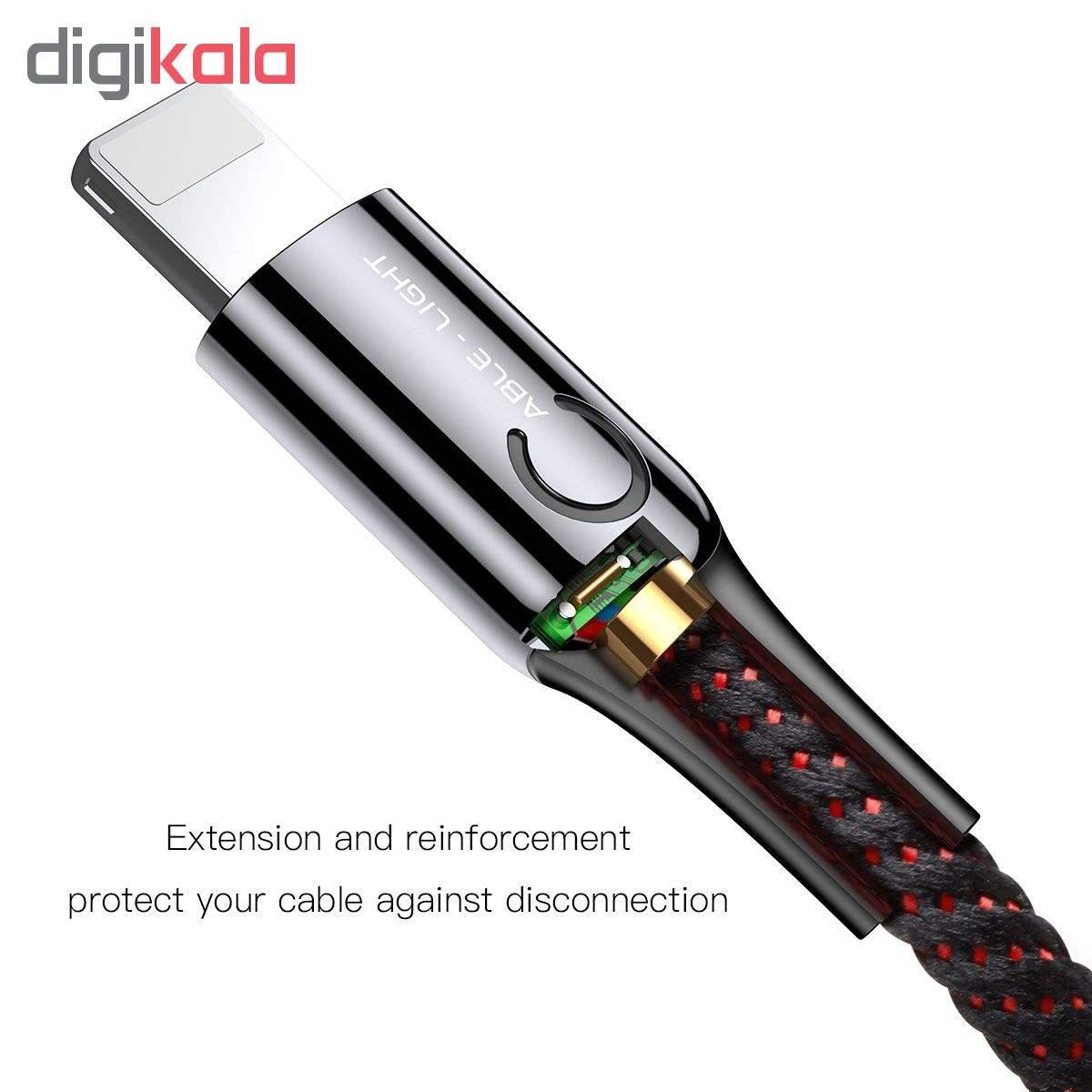 کابل تبدیل USB به لایتنینگ باسئوس مدل CALCD-01 طول 1 متر main 1 2