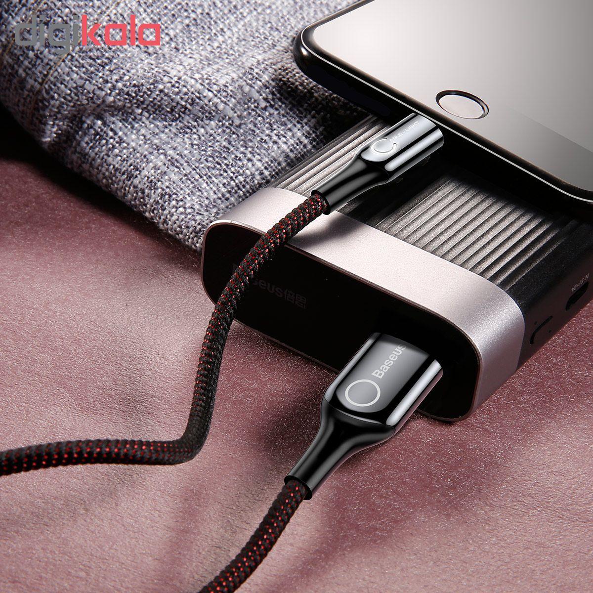 کابل تبدیل USB به لایتنینگ باسئوس مدل CALCD-01 طول 1 متر main 1 8