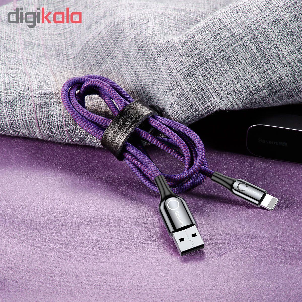 کابل تبدیل USB به لایتنینگ باسئوس مدل CALCD-01 طول 1 متر main 1 12