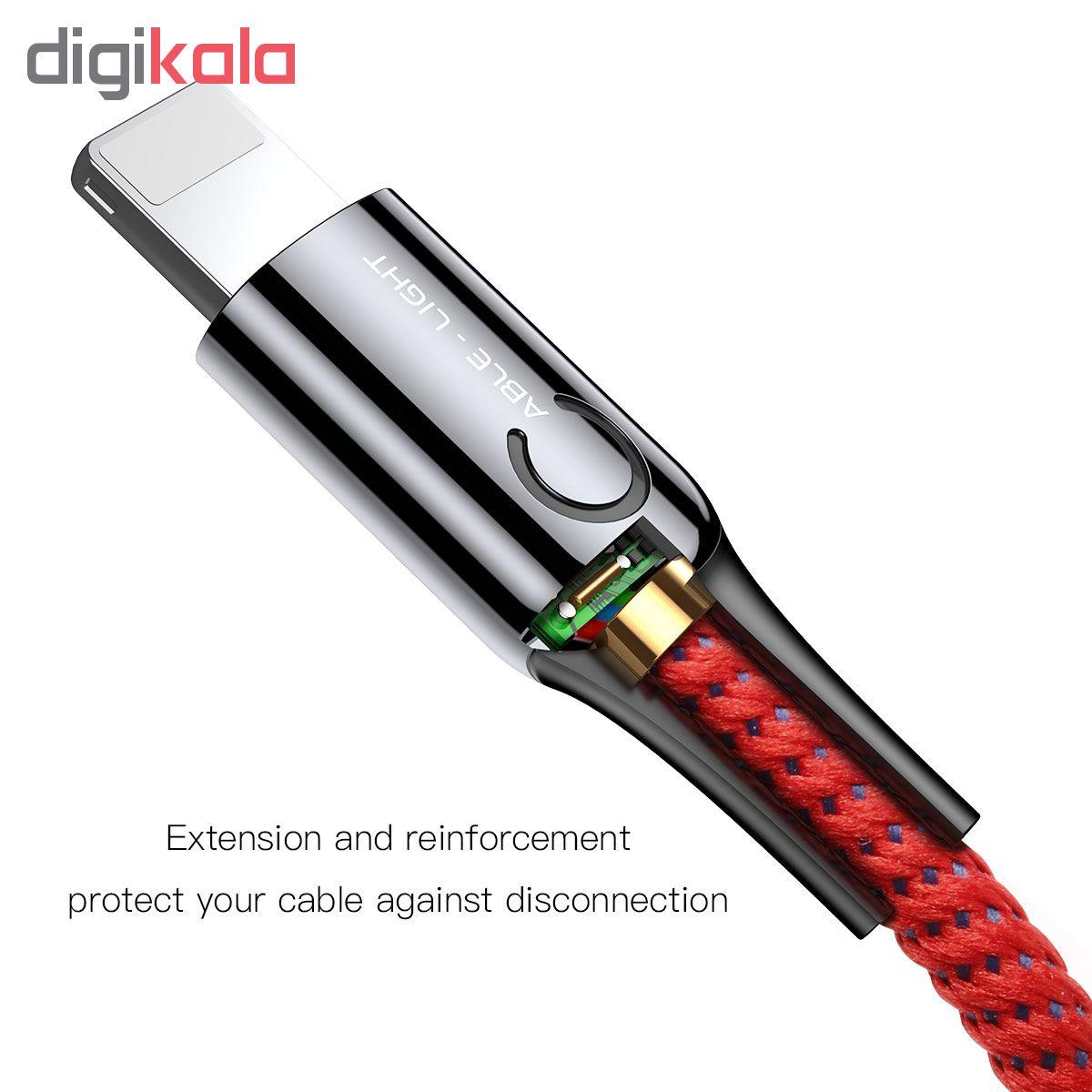 کابل تبدیل USB به لایتنینگ باسئوس مدل CALCD-01 طول 1 متر main 1 14