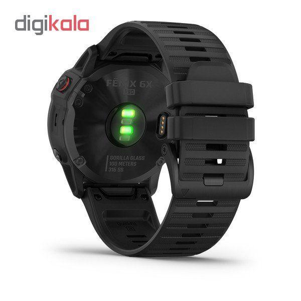 ساعت هوشمند گارمین مدل fenix 6x pro main 1 8