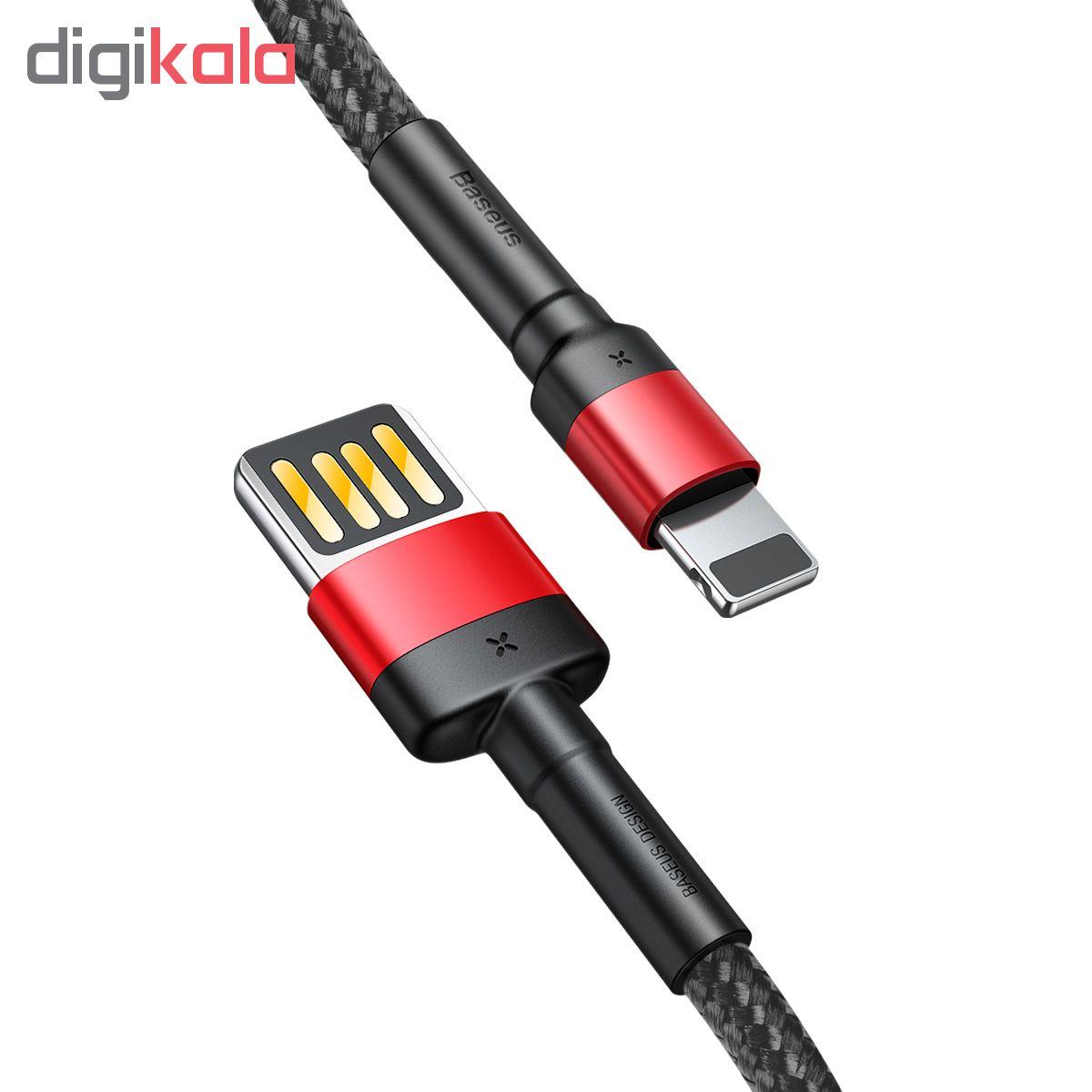 کابل تبدیل USB به لایتنینگ باسئوس مدل CALKLF-G91 طول 1متر main 1 7