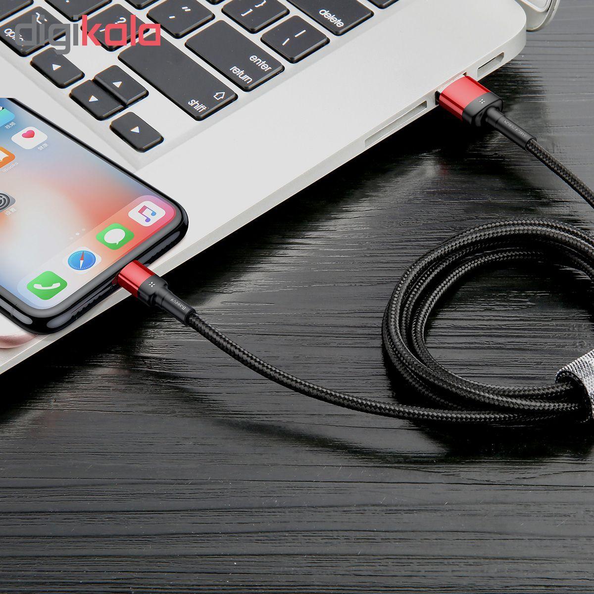 کابل تبدیل USB به لایتنینگ باسئوس مدل CALKLF-G91 طول 1متر main 1 9