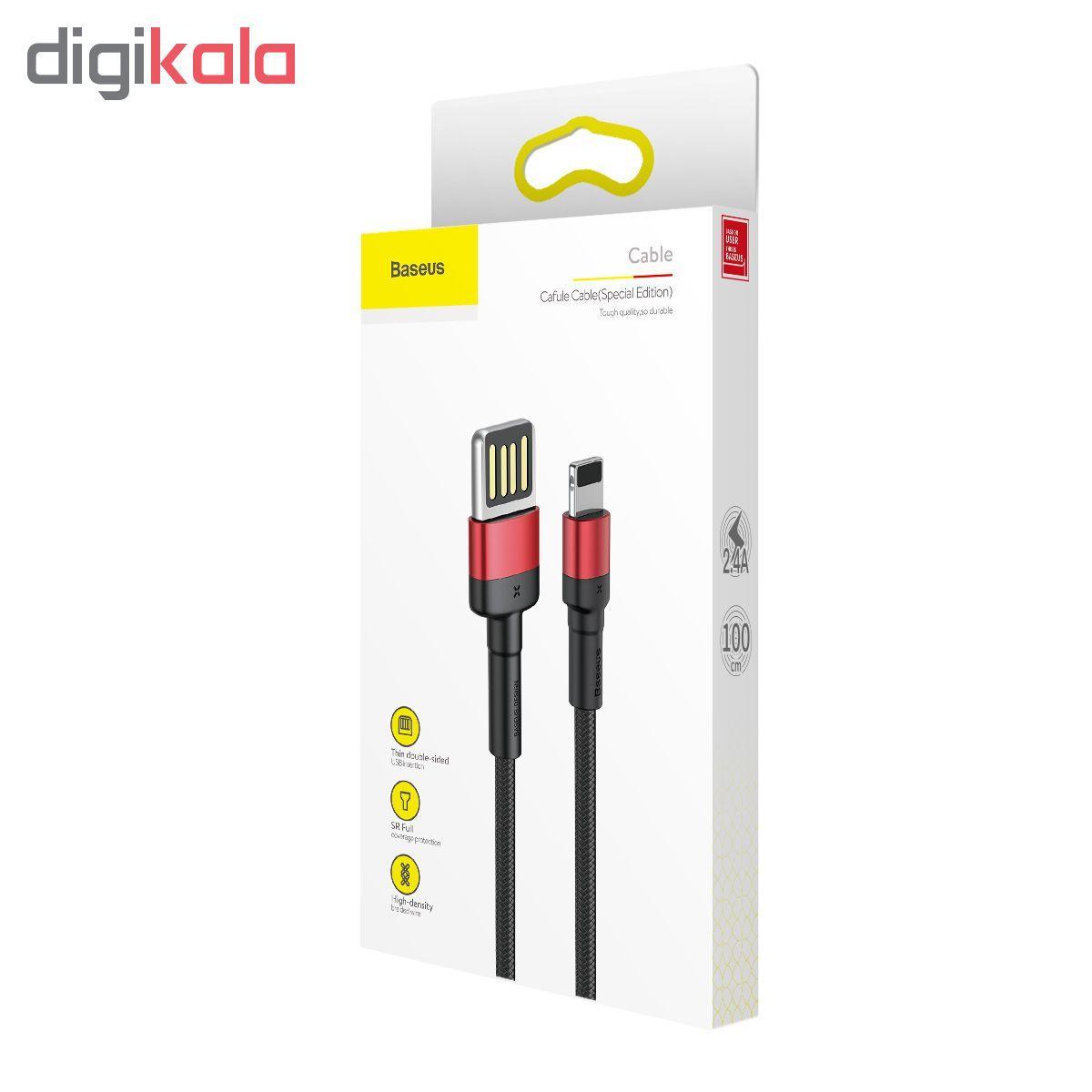 کابل تبدیل USB به لایتنینگ باسئوس مدل CALKLF-G91 طول 1متر main 1 10