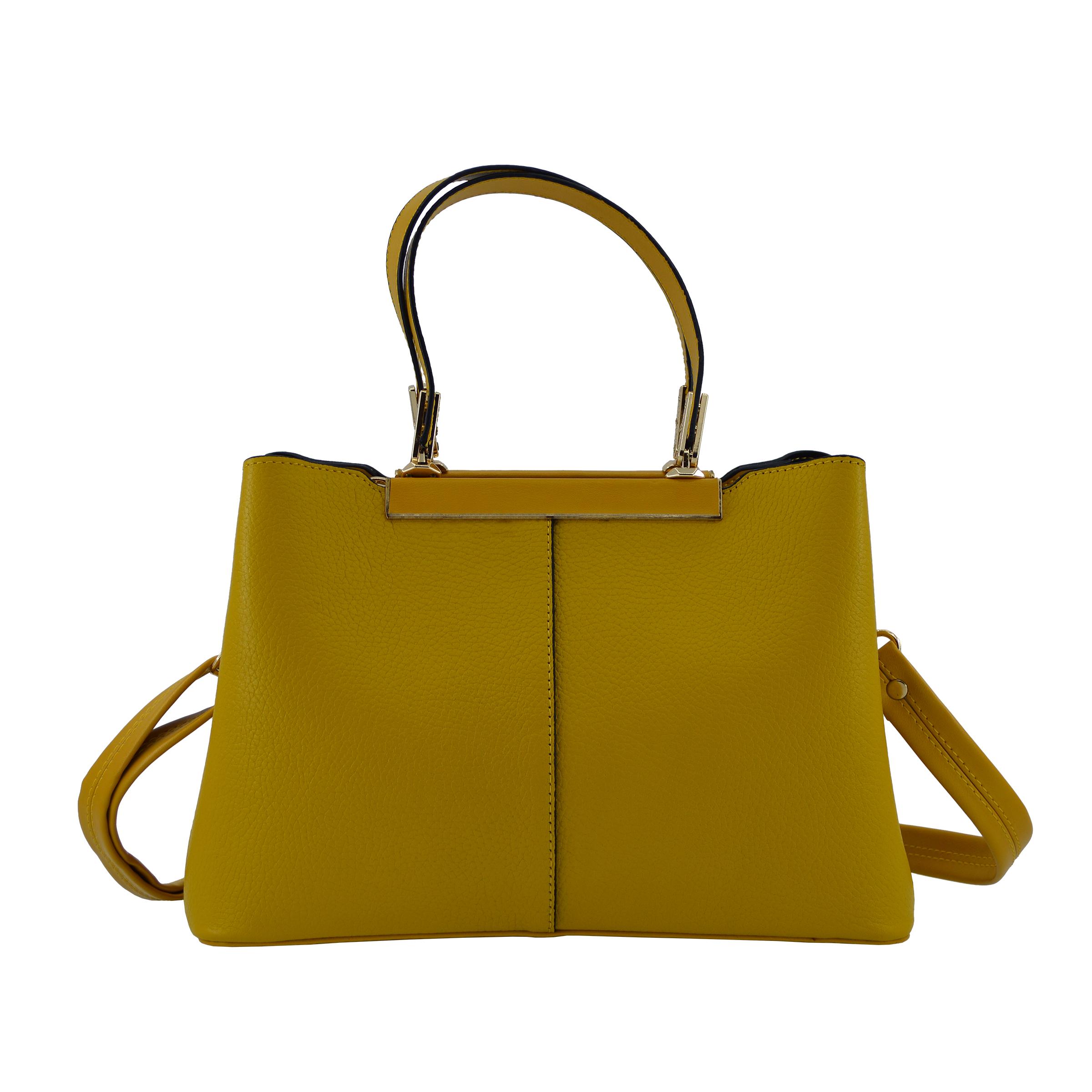کیف دستی زنانه چرم مکس مدل آلدورا 12207