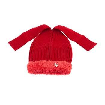 کلاه بافتنی تارتن مدل 80027 رنگ قرمز
