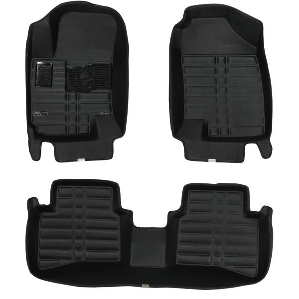 کفپوش سه بعدی خودرو تری دی مکس اچ اف کی مدل HS110203 مناسب برای جک S3