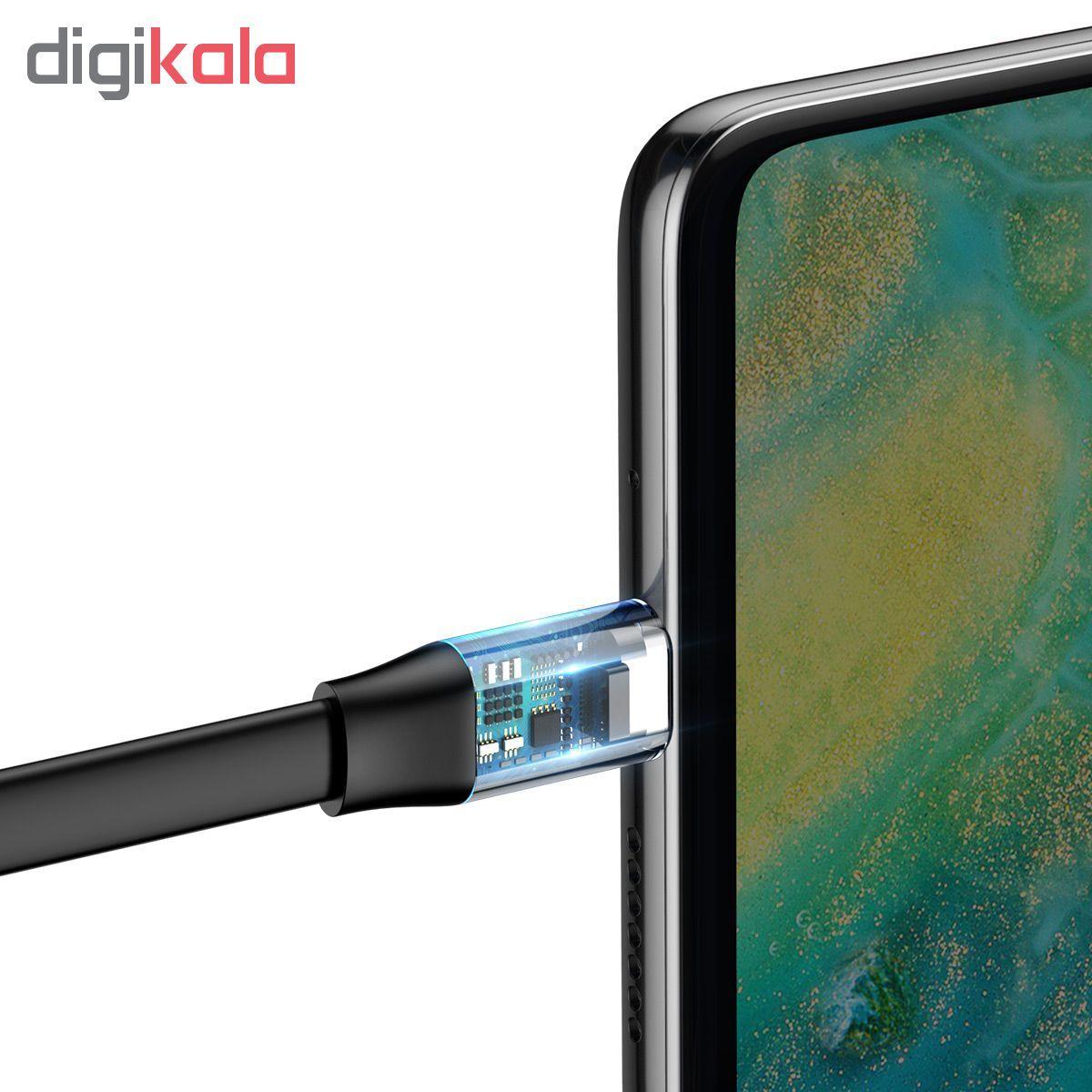 کابل تبدیل USB به USB-C باسئوس مدل CATMBJ-BG1 طول 0.23 متر main 1 5