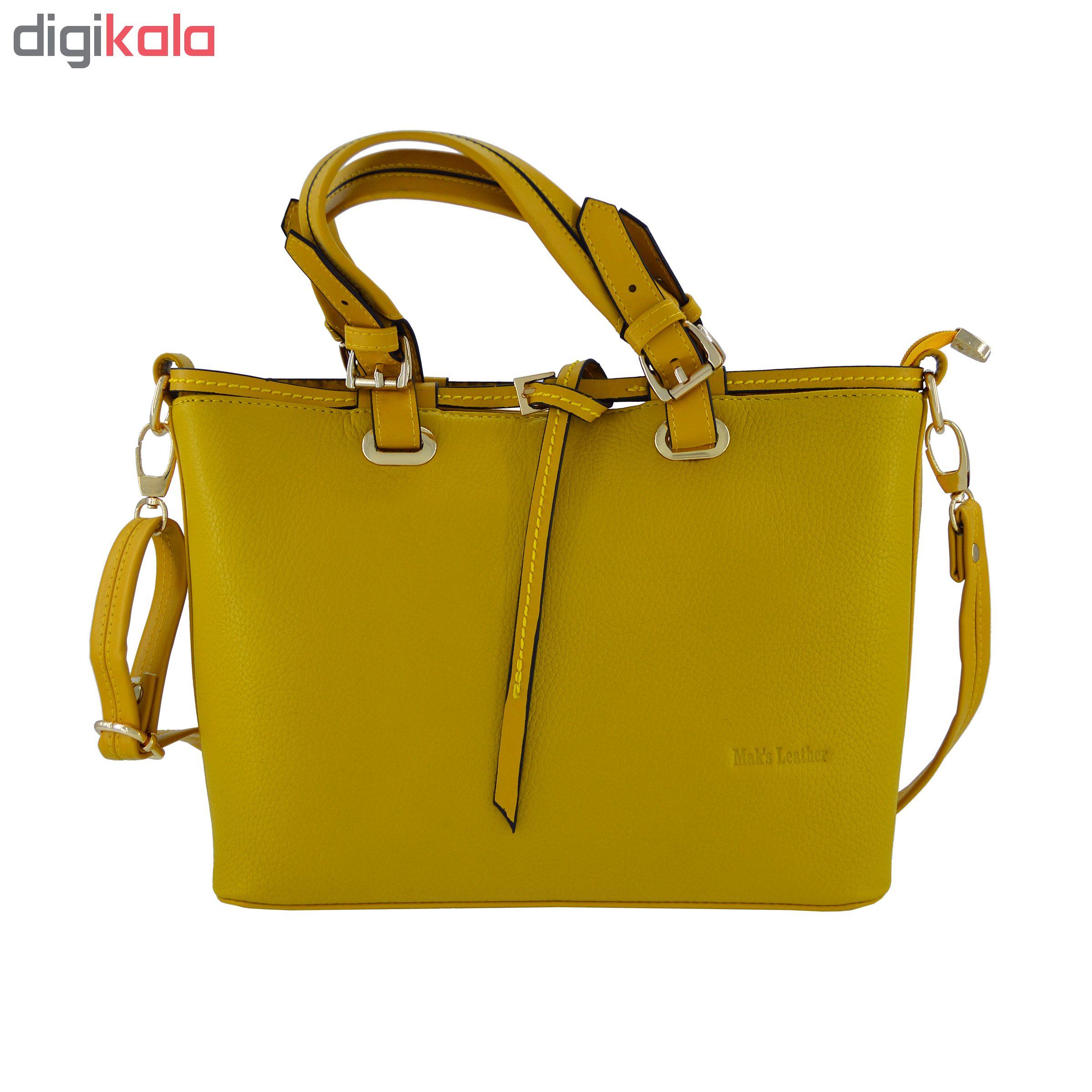 کیف دستی زنانه چرم مکس مدل آلدورا 12707