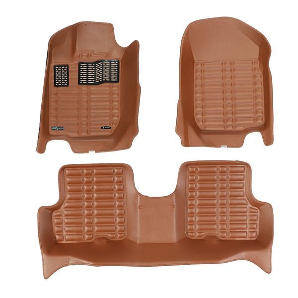 کفپوش سه بعدی خودرو تری دی مکس اچ اف کی مدل HS110203 مناسب برای رنو l90