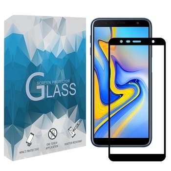 محافظ صفحه نمايش 5D مدل FGSP مناسب براي گوشي موبايل سامسونگ Galaxy J6 Plus 2018