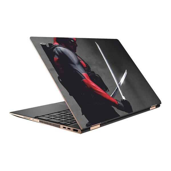 استیکر لپ تاپ طرح DeadPool کد 01 مناسب برای لپ تاپ 15.6 اینچ