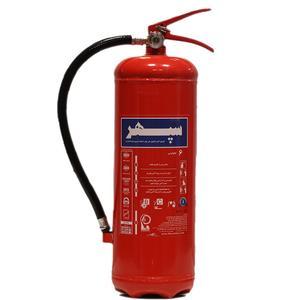 کپسول آتش نشانی پودر و گاز سپهر کد P123 وزن 6 کیلوگرم
