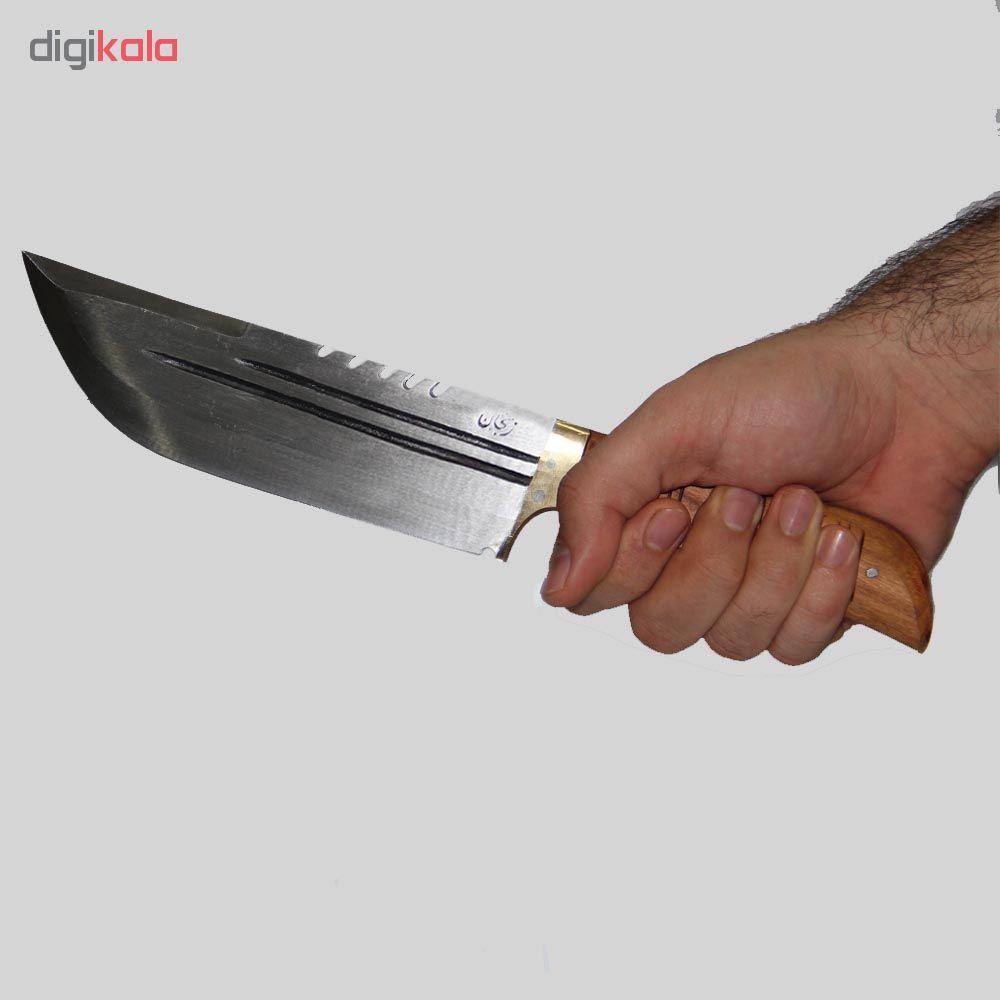 چاقو سفری زنجان مدل s-ch401