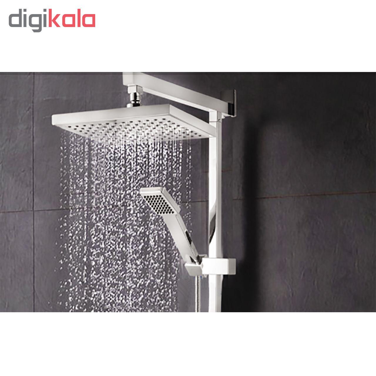 سر دوش حمام سکنا پلاست مدل Khalij-A مجموعه 2 عددی