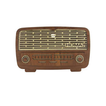 جعبه دستمال کاغذی هما طرح رادیو  کد HK-01