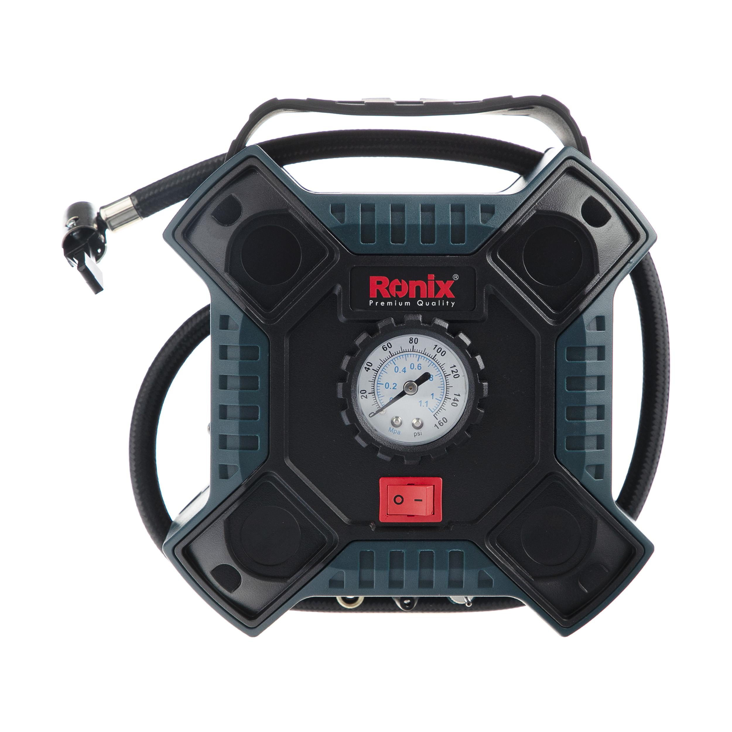 مینی کمپرسور باد فندکی  رونیکس مدل  RH_4263