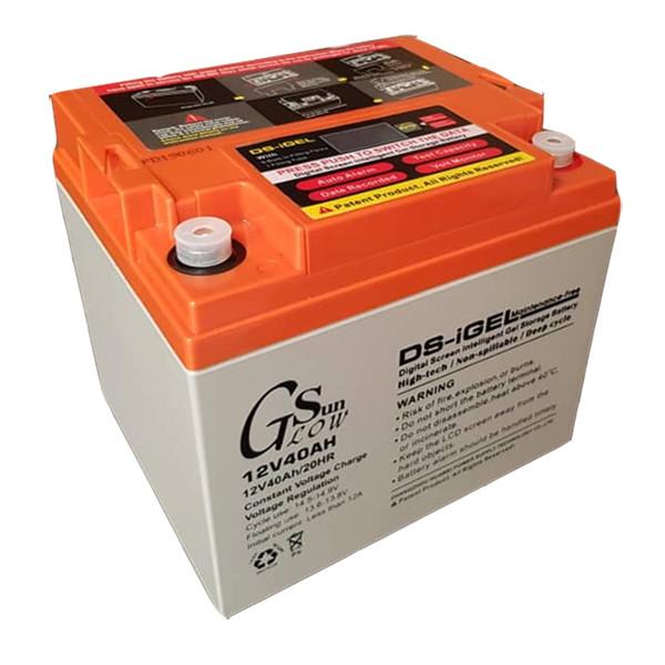باتری یو پی اس 12 ولت 40 آمپر ساعت گلوسان مدل DS-iGEL