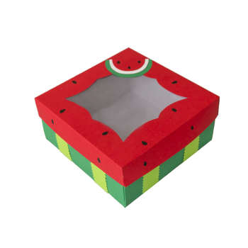 جعبه هدیه طرح هندوانه کد S16