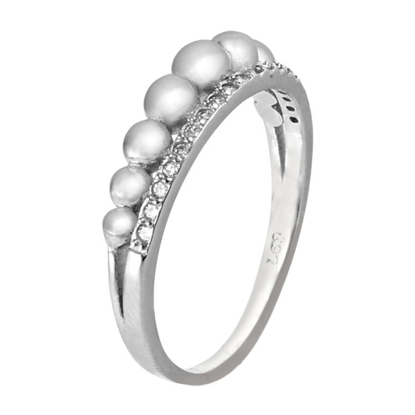 انگشتر نقره زنانه مد و کلاس کد 1000478
