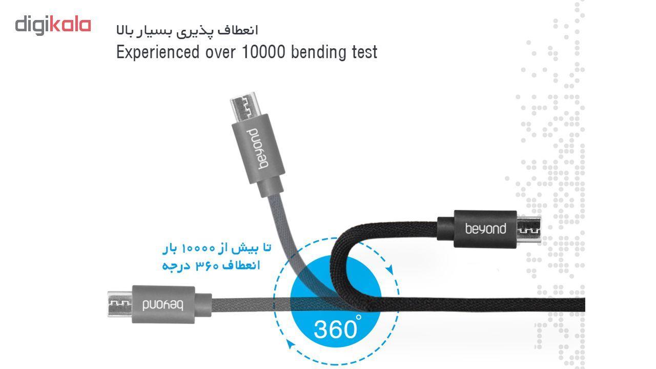 کابل تبدیل USB به microUSB بیاند مدل BA-321 طول 1 متر main 1 1